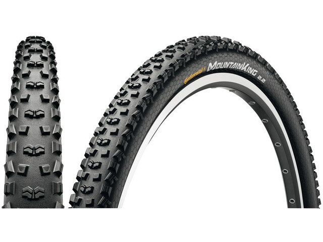 "Continental Mountain King 2.2 Tyre Sport 27.5"", wire bead Skin, black/black"